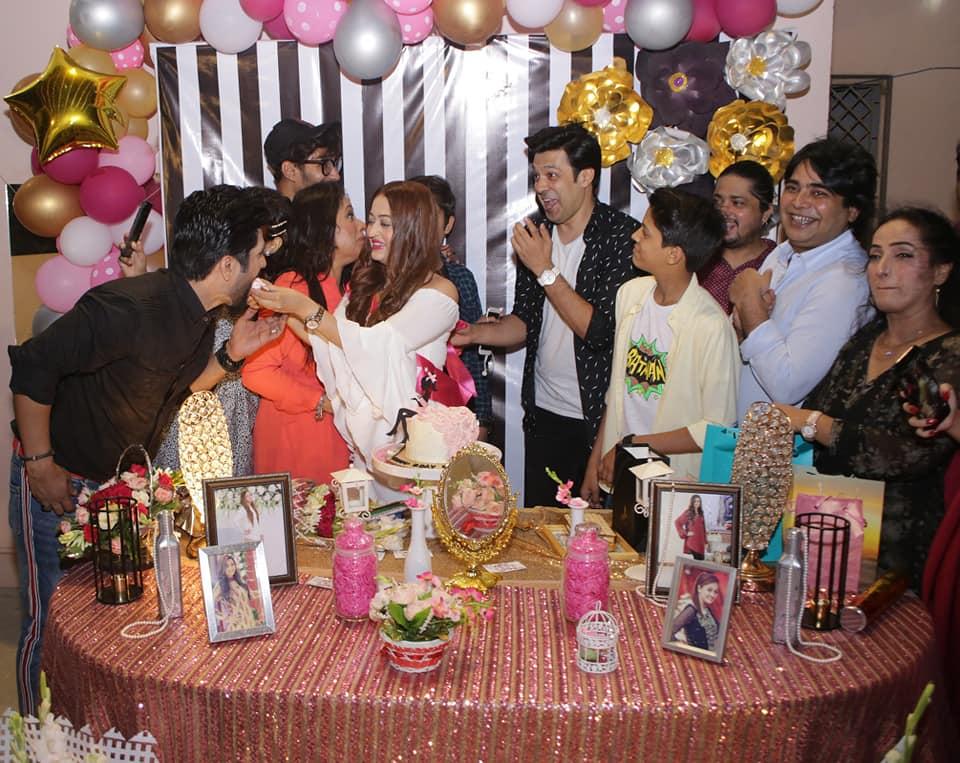 Birthday Party Click of Actor Umair Laghari's Wife Sadaf