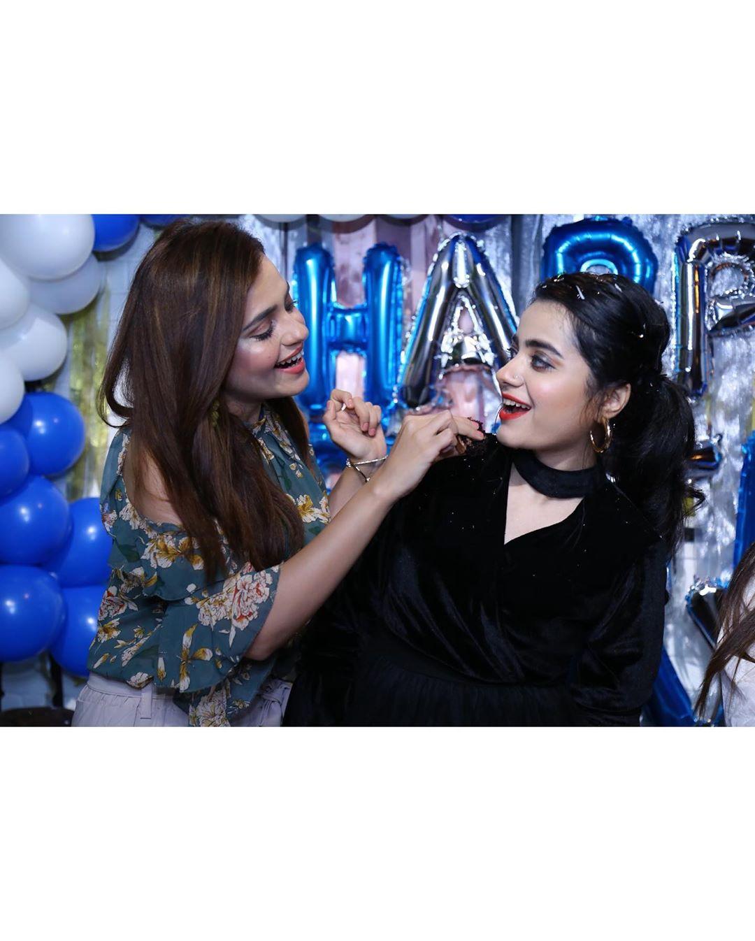 Beautiful Clicks of Kompal Iqbal Birthday Party