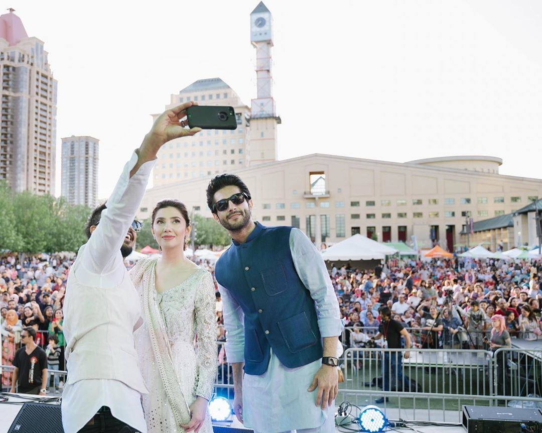 Mahira Khan & Bilal in Canada for Promotion of Movie Superstar