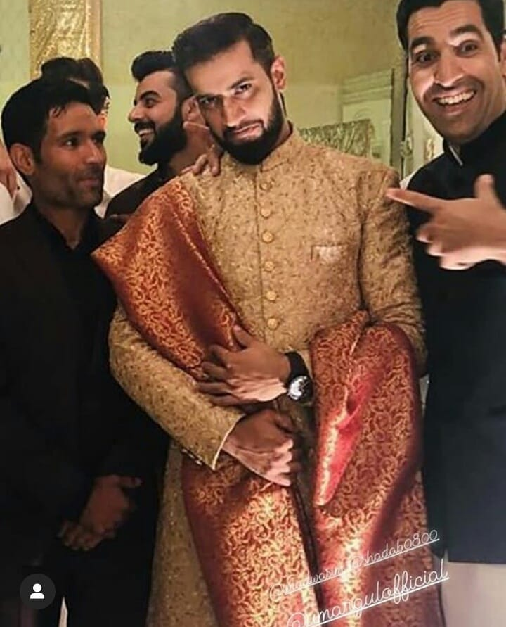 Complete Walima Clicks of Cricketer Imad Waseem