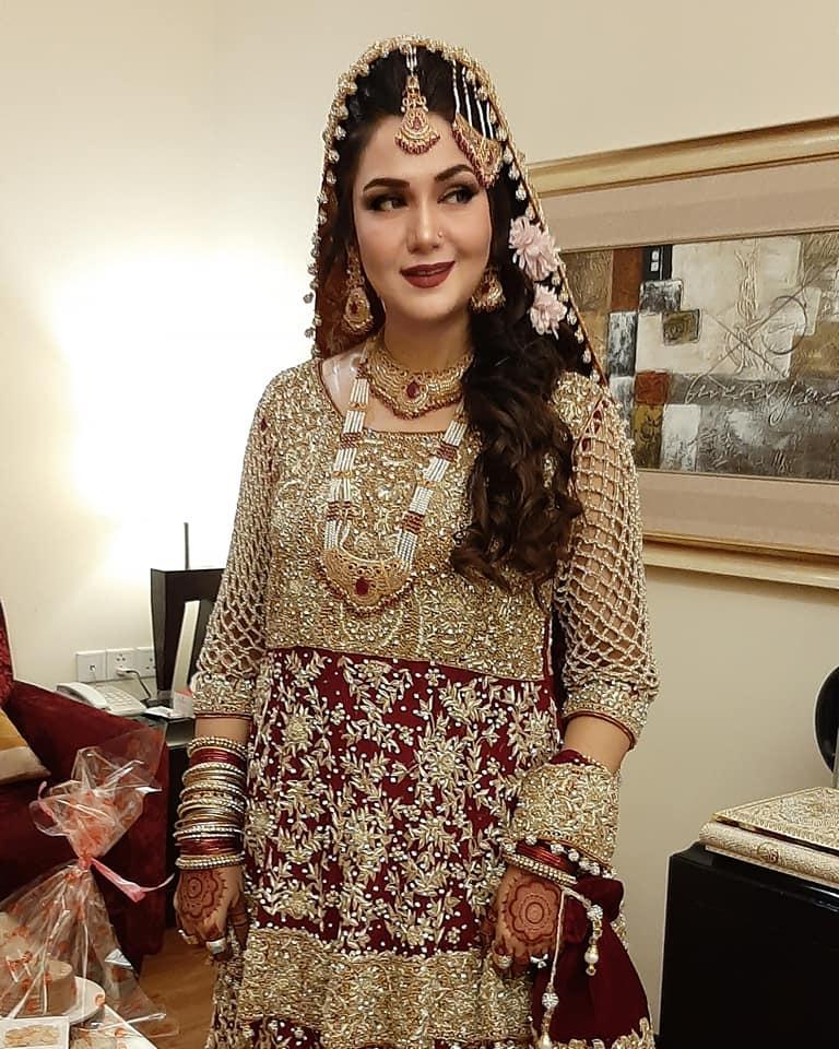 Actress Naheed Shabbir Awesome Wedding Clicks