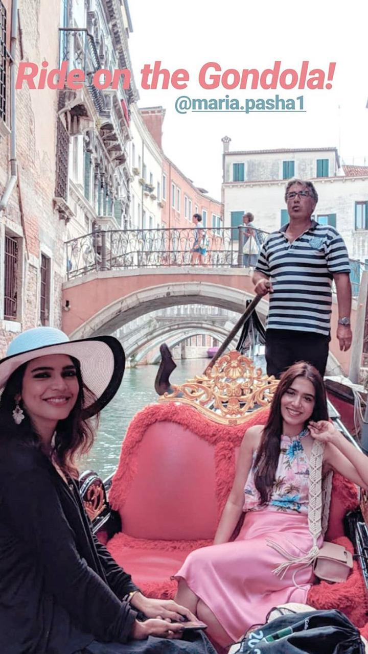 Awesome Photos of Actress Masha Pasha from Venice