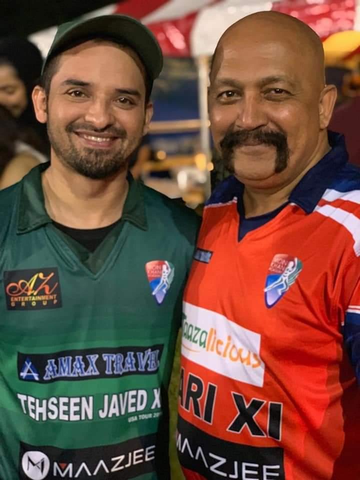 Pakistani Celebrities Playing Cricket 3