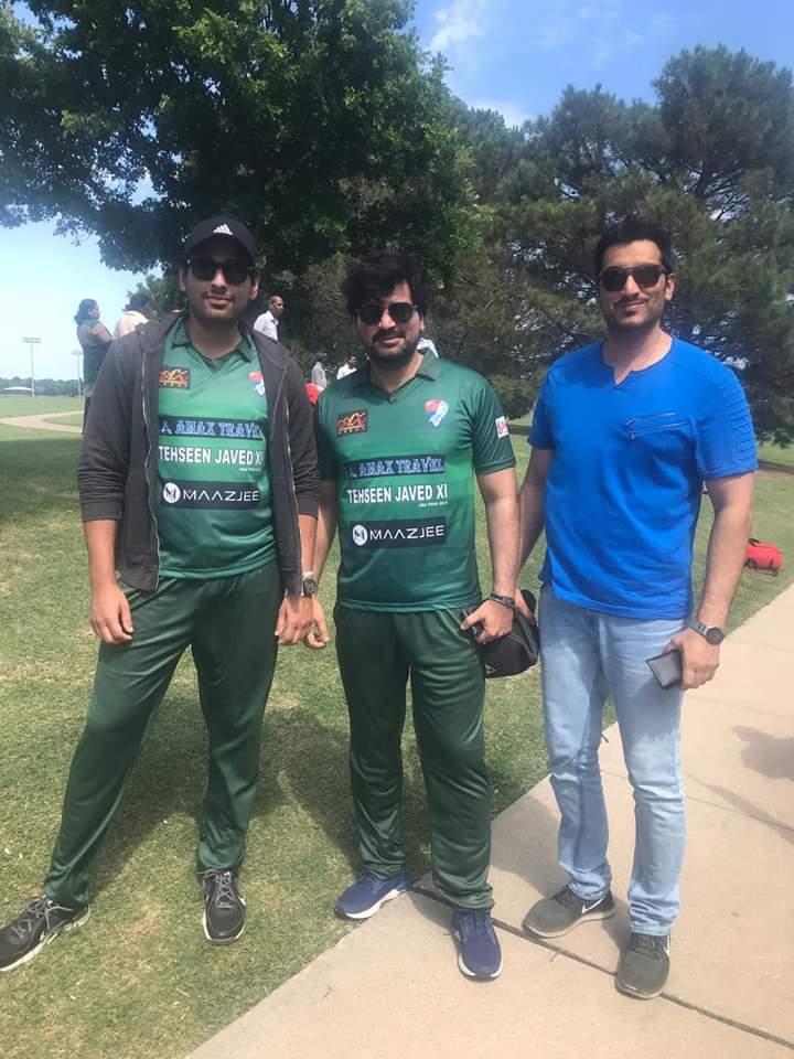 Pakistani Celebrities Playing Cricket 9