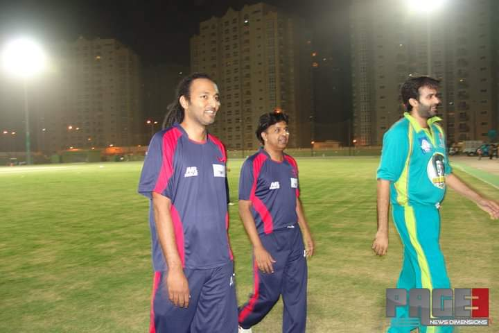 Pakistani Celebrities Playing Cricket 8