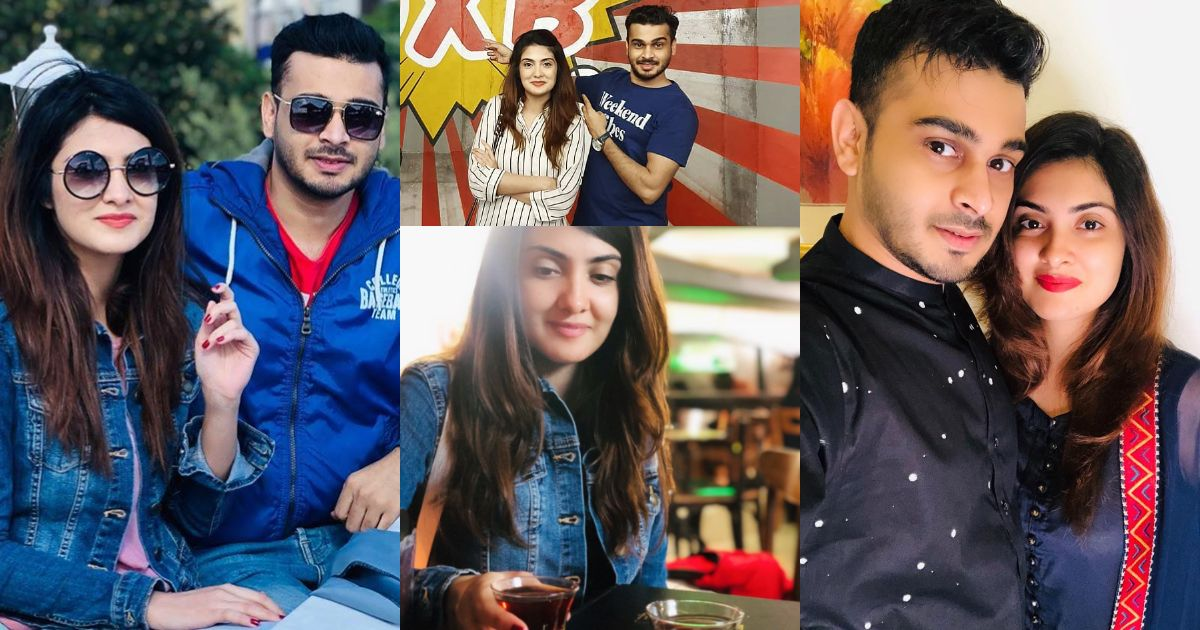 Awesome Pictures of Beautiful Alizeh Tahir with Husband