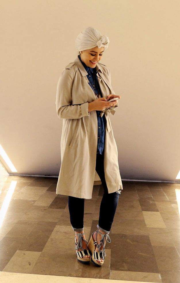 Unique Western Style Outfits with Hijab for Awesome Look