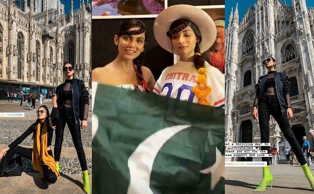 Models Representing Pakistan At Milan Fashion Week