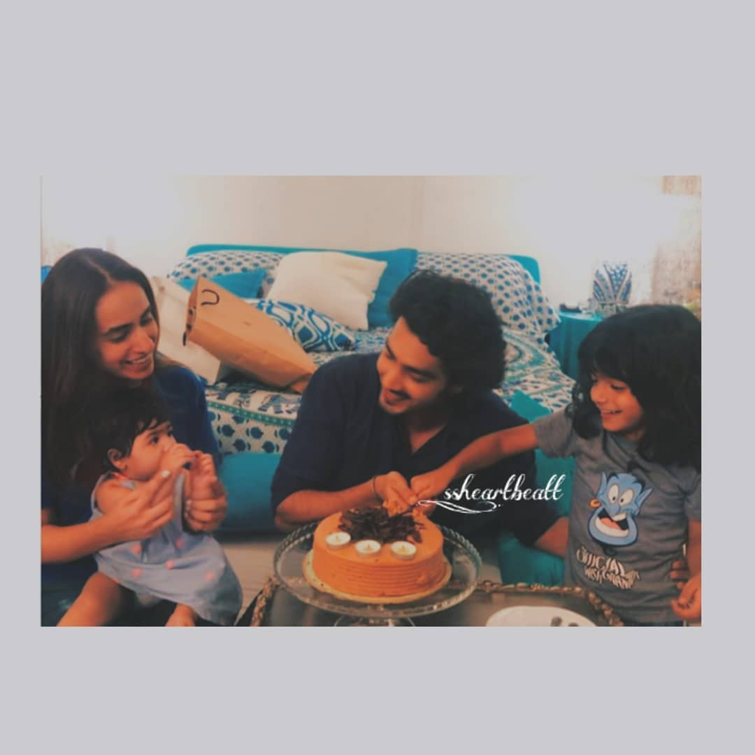Actor Shehzad Sheikh Celebrating his Birthday with his Family