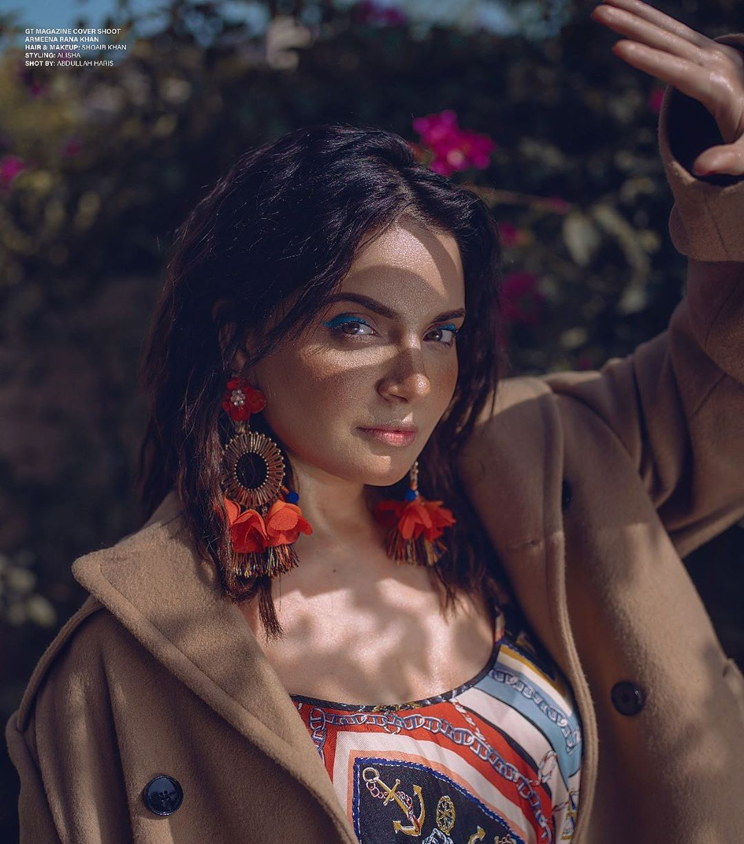 Awesome Photo Shoot of Armeena Khan