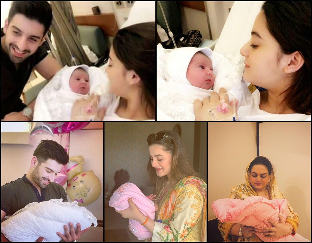 Aiman Khan Angry Over Her Daughter Leaked Pictures