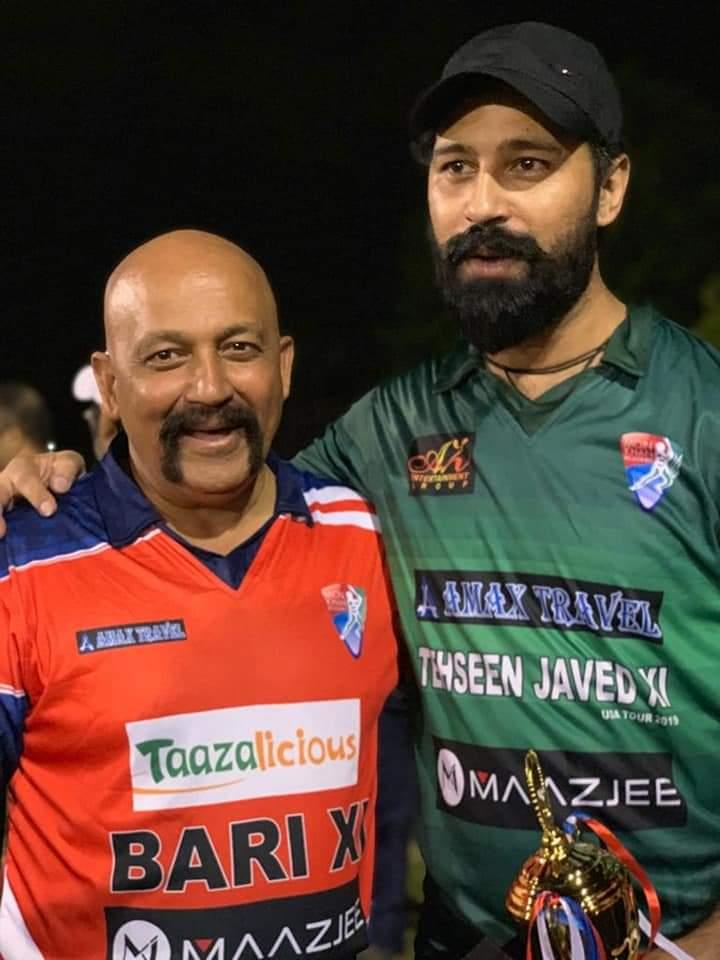 Pakistani Celebrities Playing Cricket 1