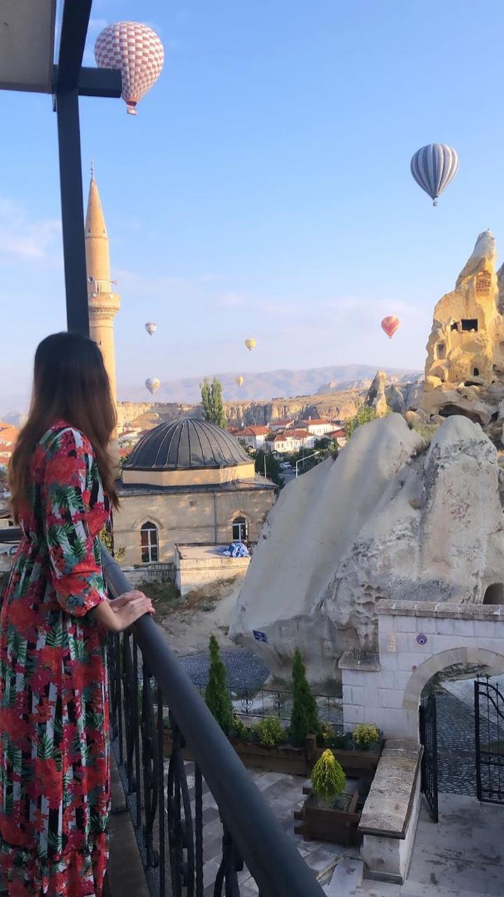 New Clicks of Actress Alizeh Tahir from Cappadocia Turkey