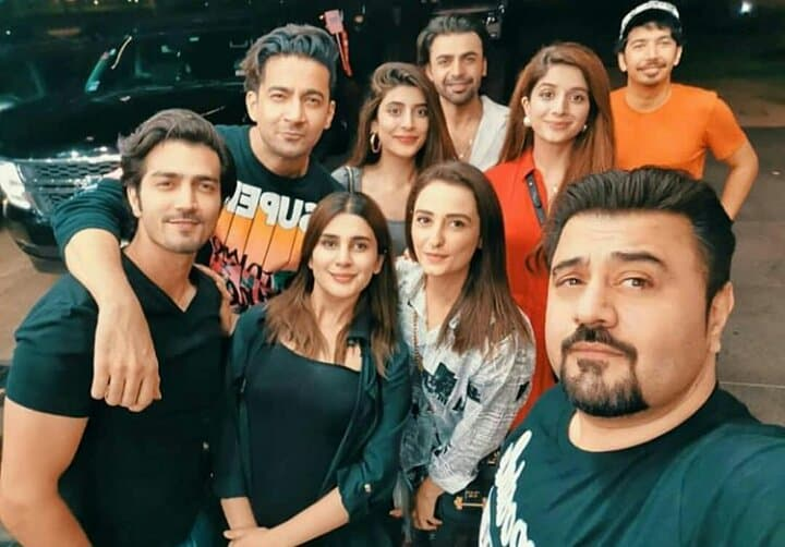 Pakistani Celebrities are in Houston For Hum Awards 2019