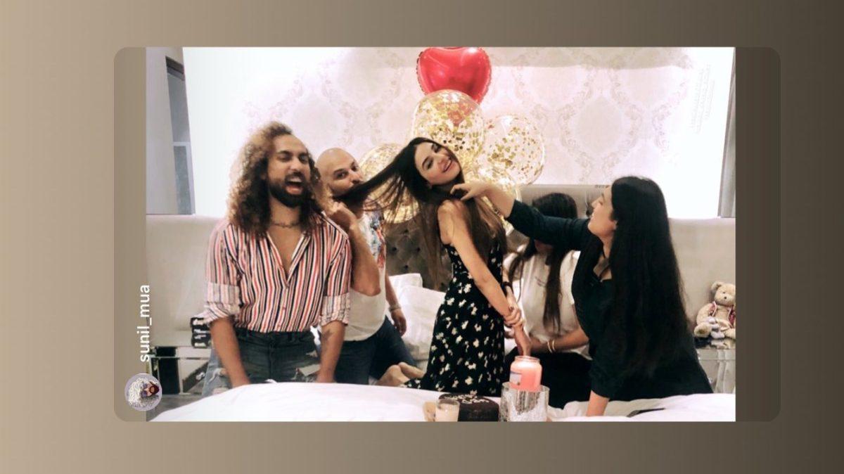 Sadia Khan Celebrating Birthday with Friends
