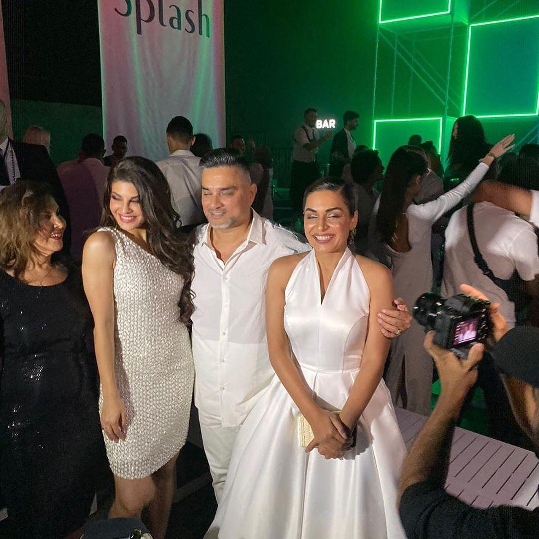 Actress Meera Enjoying with Bollywood Star Jacqueline Fernandez in Dubai