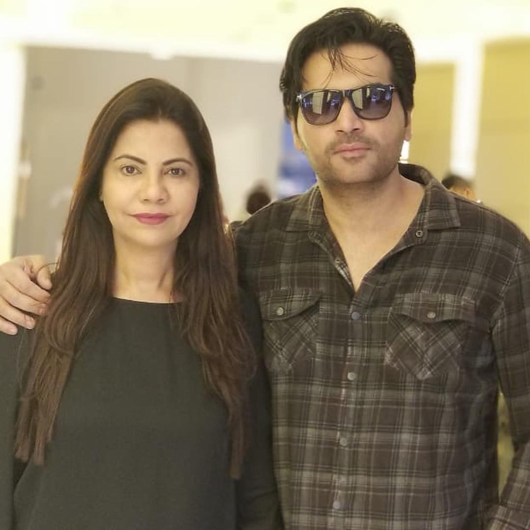 Lovely and Awesome Clicks of Humayun Saeed with Wife