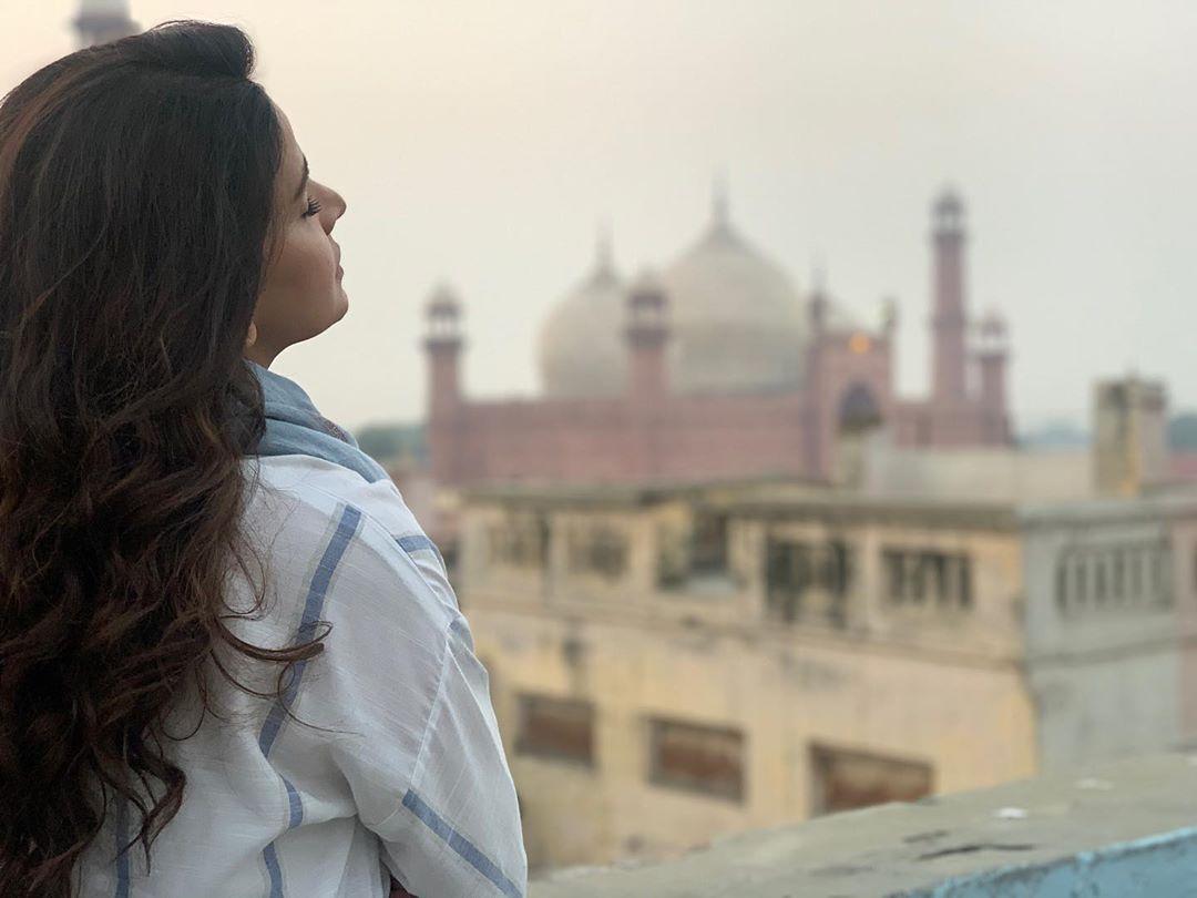 Latest Clicks of Beautiful Actress Saba Qamar