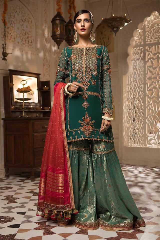Unique Ready To Bridal Wear Edition by Maria B For Yr 2019-20