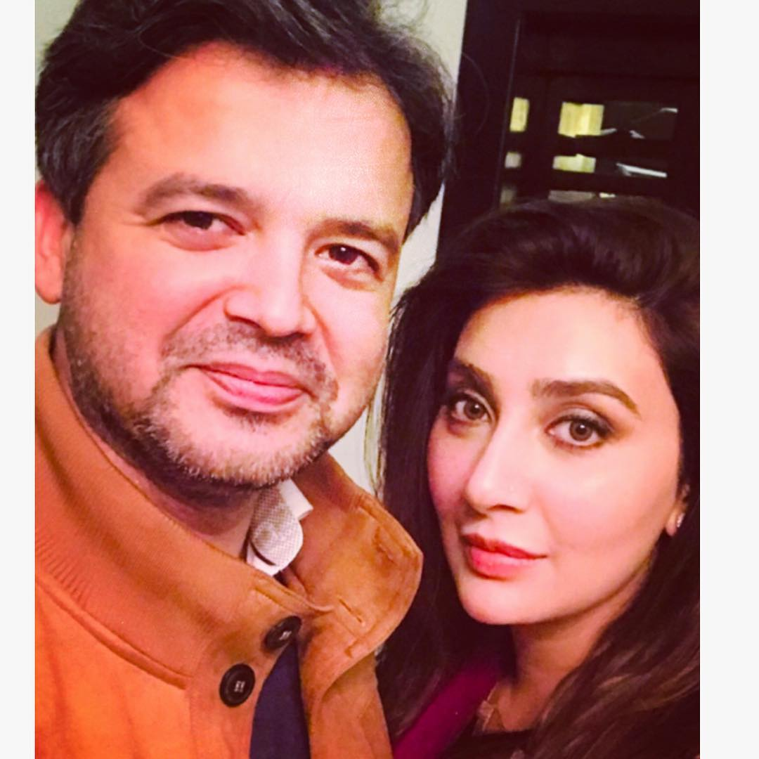 Actress Aisha Khan and Maj Uqbah Malik Blessed with a Baby Girl