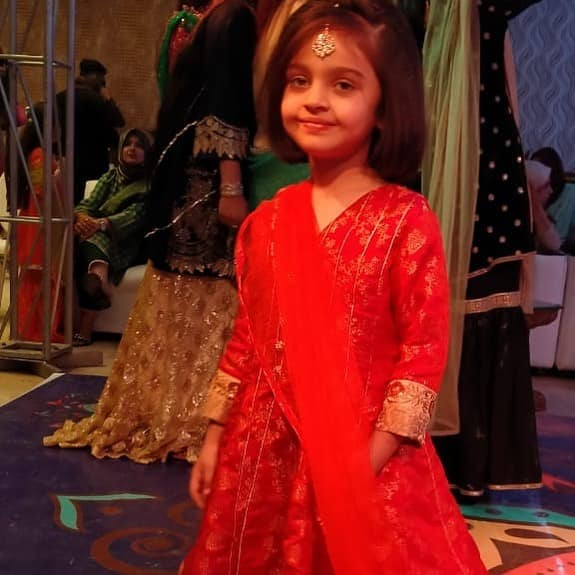 Sadia Imam with her Cute Daughter Meerab at Family Wedding