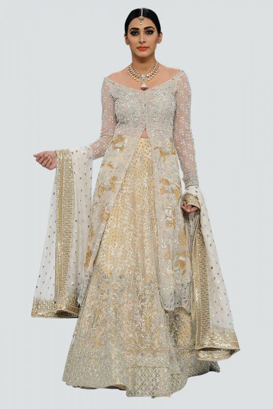 Sania Maskatiya Bridal Dresses 2020 0for Mehndi Barat and Walima