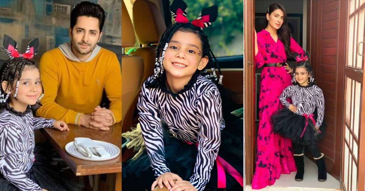 Ayeza Khan and Danish Taimoor Awesome Pictures with Their Daughter Hoorain