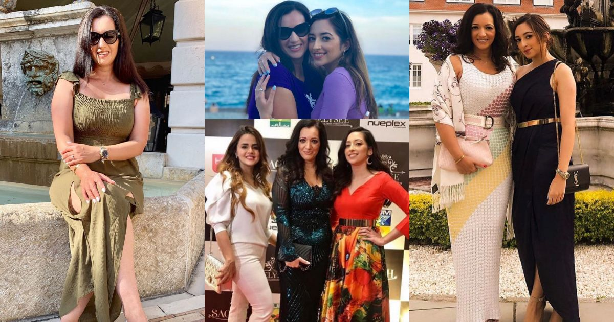 New Pictures of Actress Tasmina Sheikh with her Daughter Elysee Sheikh