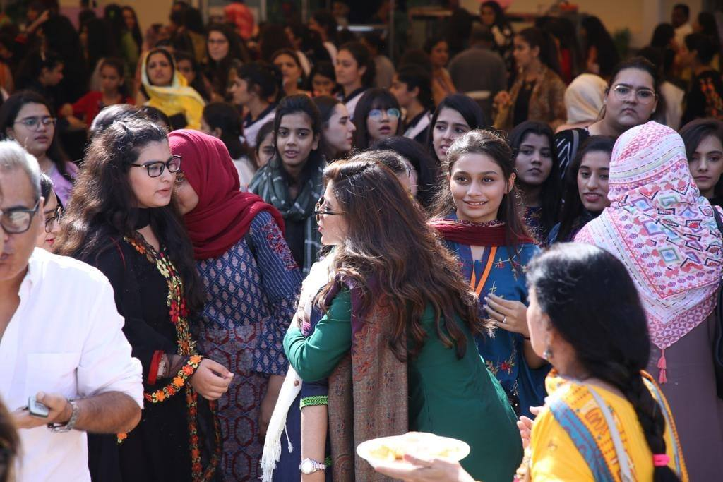 Sonya Hussyn invited by An All Girls College as the Guest of Honor