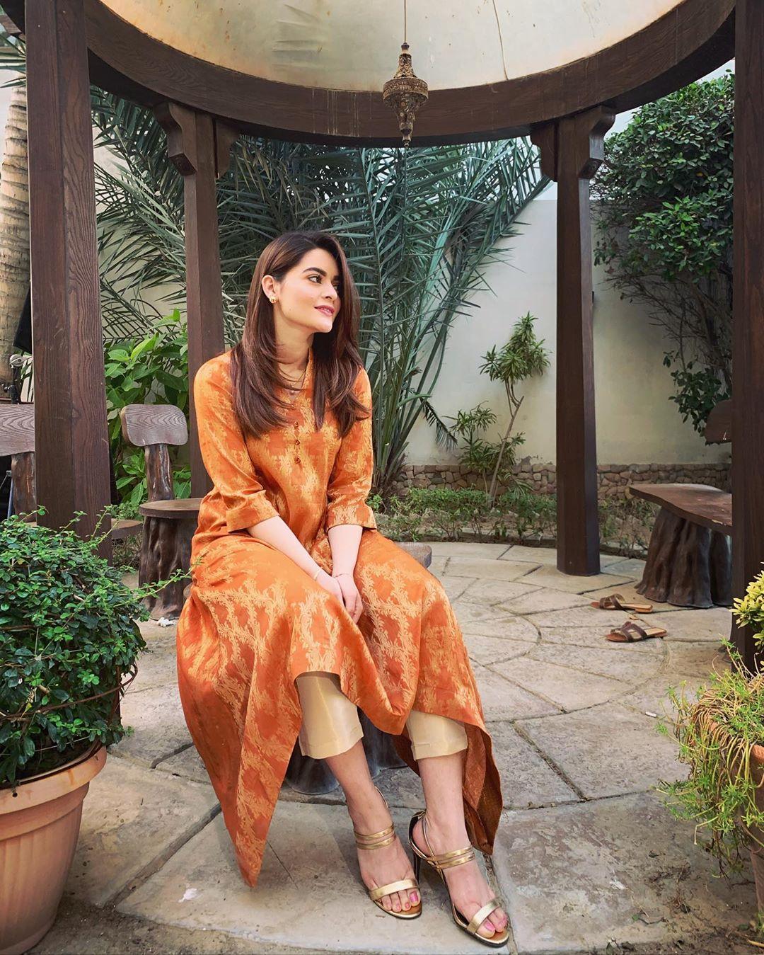 Gorgeous Minal Khan Latest Beautiful Clicks