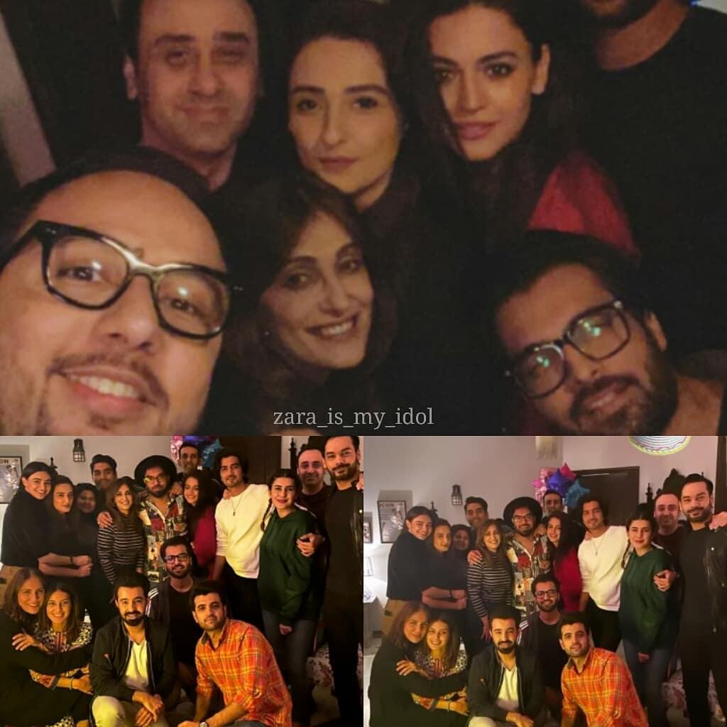 Birthday Party Clicks of Actor Yasir Hussain