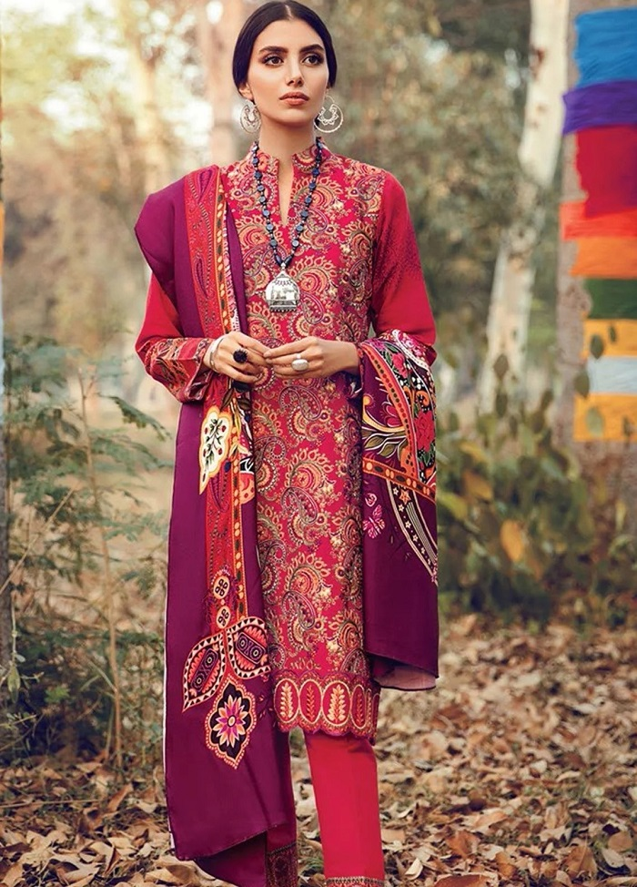 RajBari Winter Khaddar, Linen suits Collection 2020