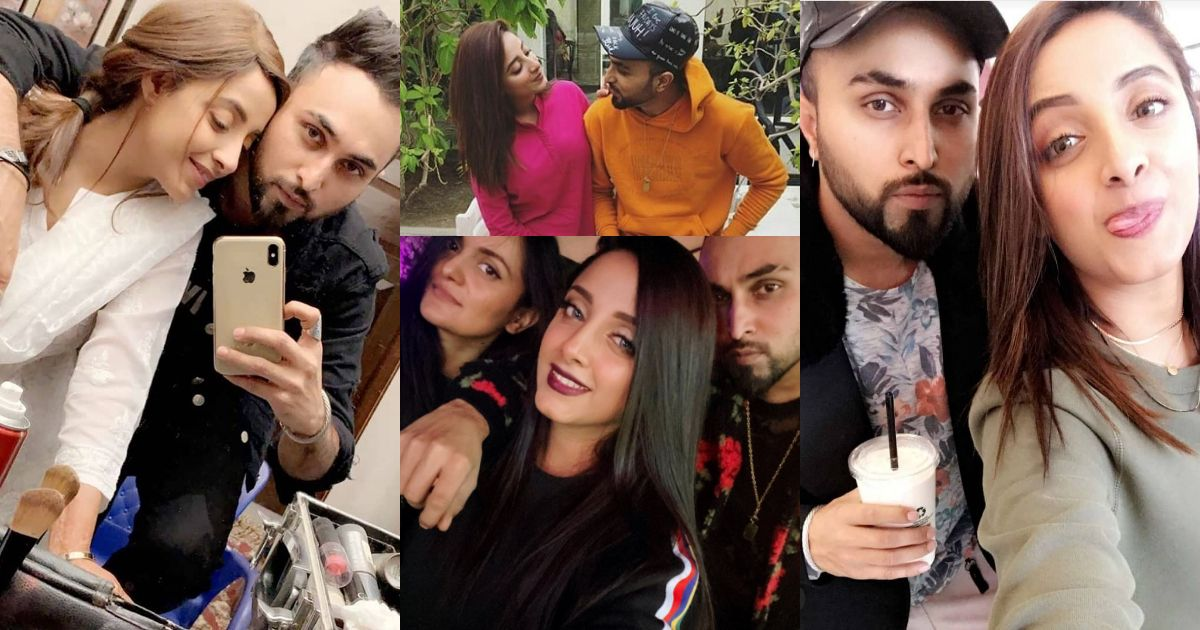 Latest Clicks of Sanam Chaudhry with her Husband Somee Chohan