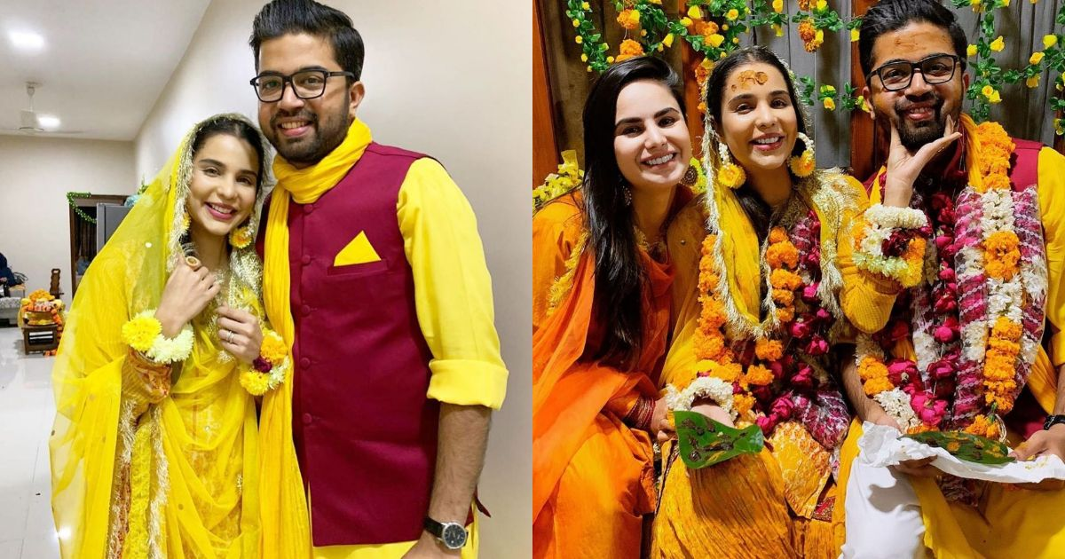 Sana Sarfaraz Looking Gorgeous as Mayun Bride