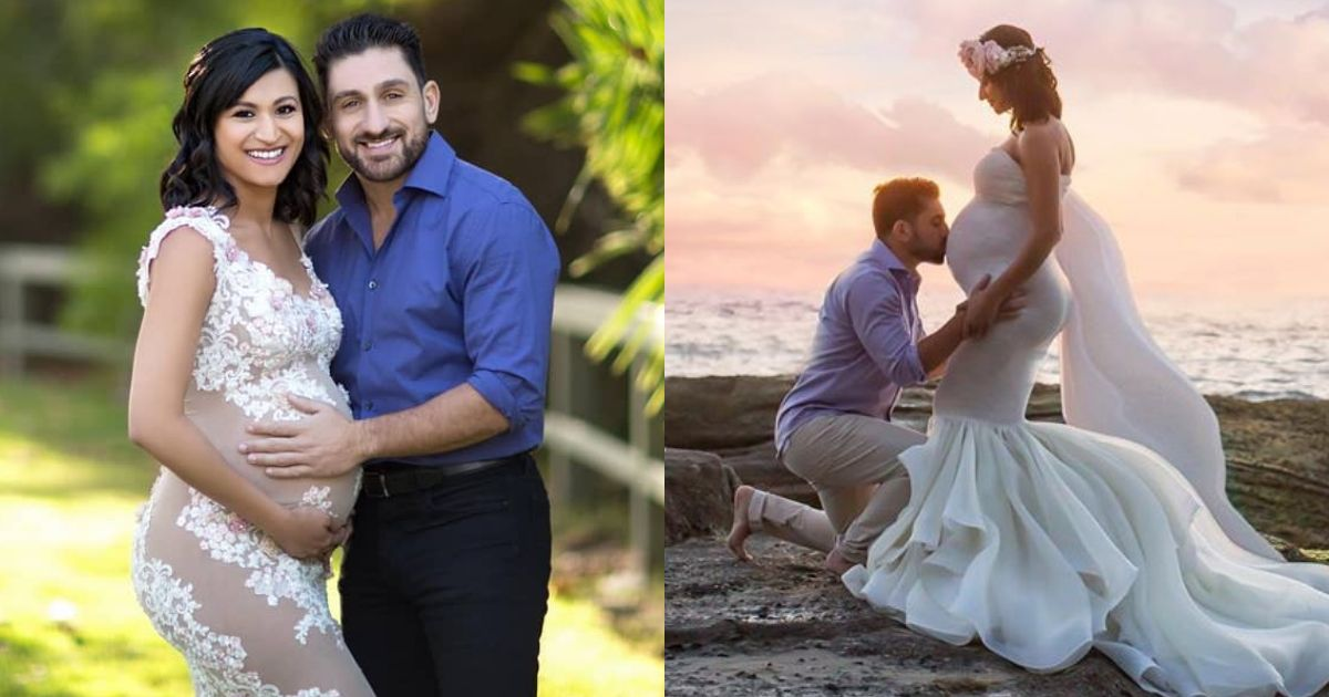Actor Shaz Khan and his Wife Pregnancy Photoshoot