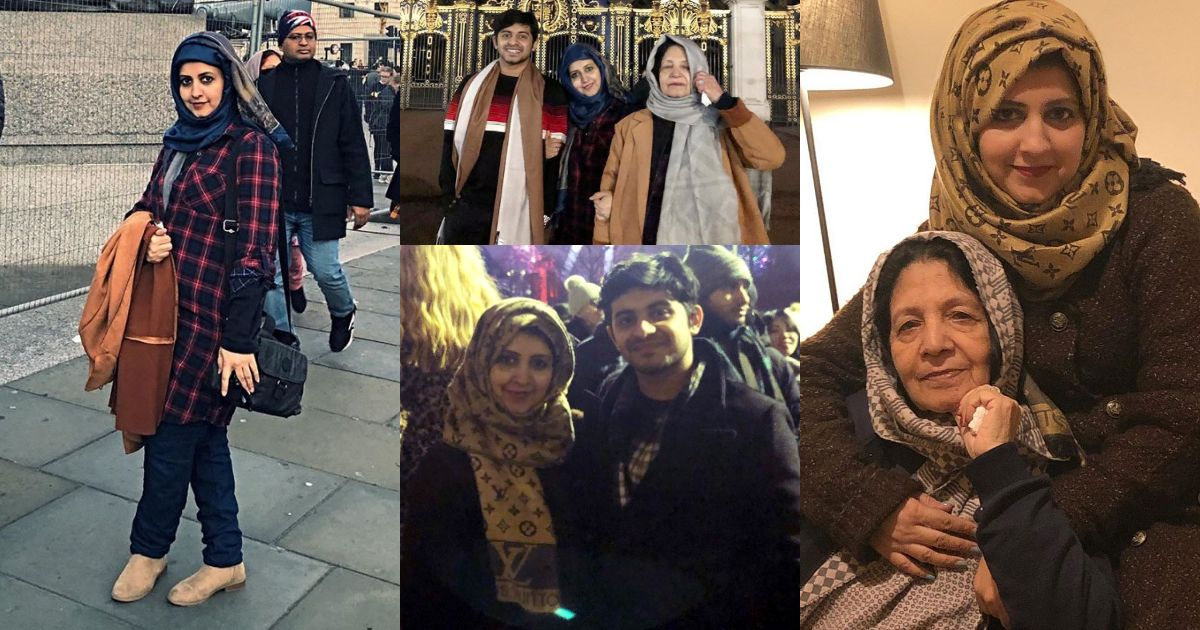 Bushra Amir Enjoying Winter Vacations with her Family in London