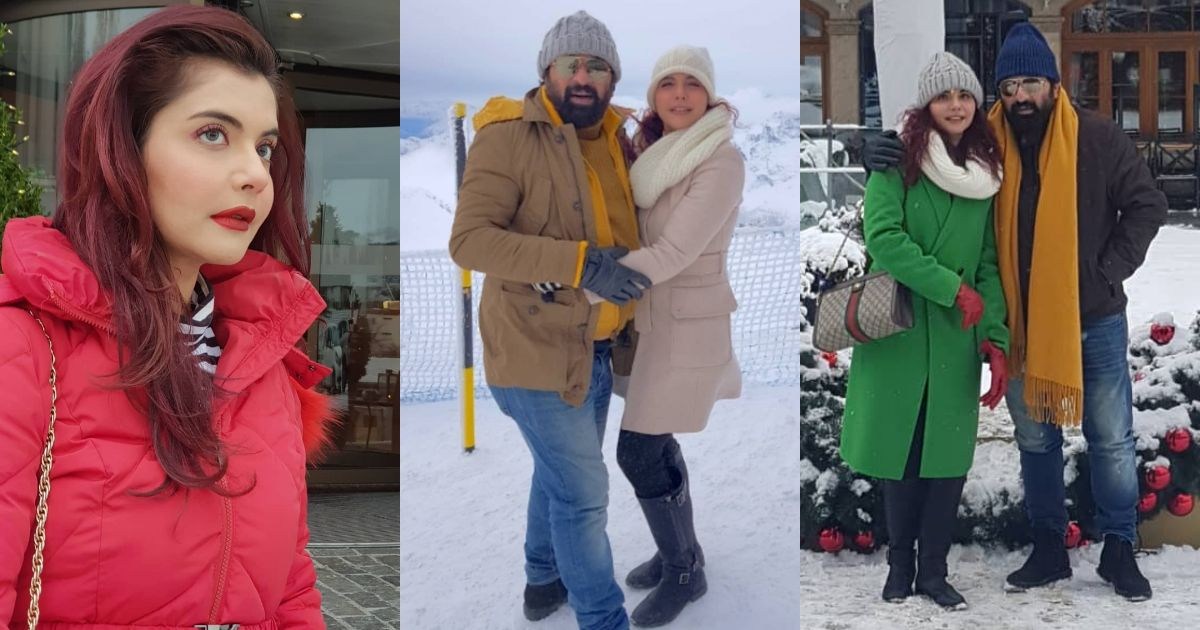 Nida Yasir and Yasir Nawaz Beautiful Clicks from Switzerland