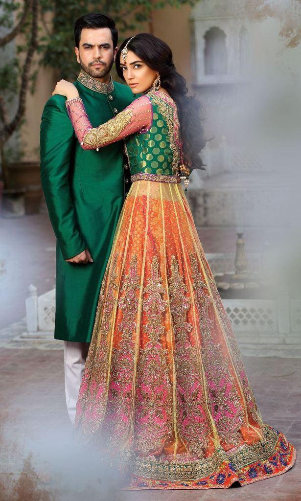 Unique & Stylish Mehndi Suits 2020