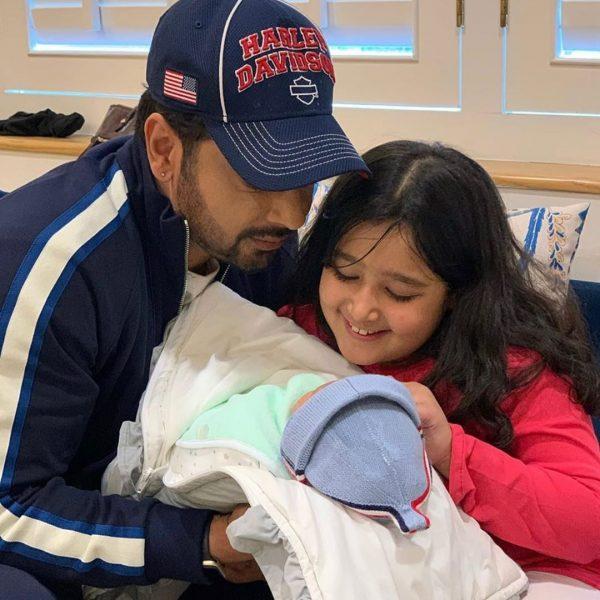 Faysal Qureshi and Sana Faysal Welcome their New Born Baby Boy Farman Qureshi