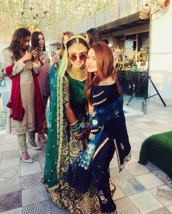Actress Anumta Qureshi And Sarang Kazi's Valima Reception