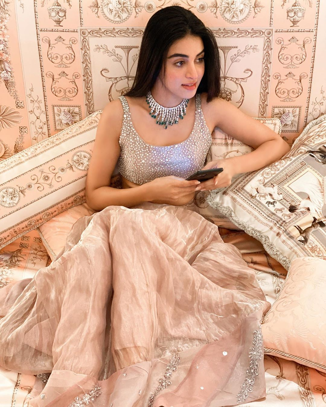 Gorgeous Anmol Baloch Slaying in this Beautiful Lehnga Choli