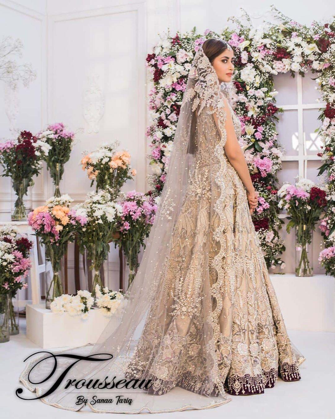 Sajal Aly Awesome New Bridal Photoshoot
