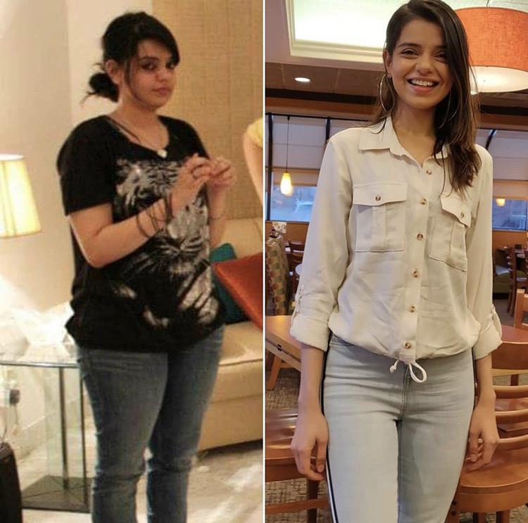 Srha Asgr Reveals Story of Loosing Her Weight