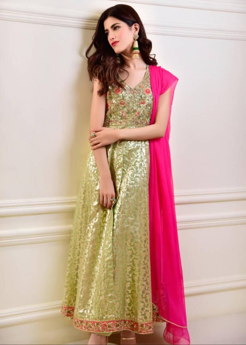 Organza Formal Dress by Agha Noor Online Sale