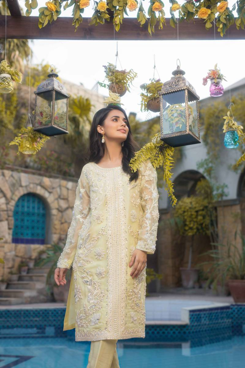 Fancy Pakistani Pret Wear by Agha Noor Collection 2020 with Price