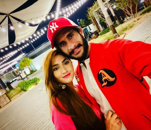 New Awesome Clicks of Hassan Ali with his Wife Samiya Arzoo