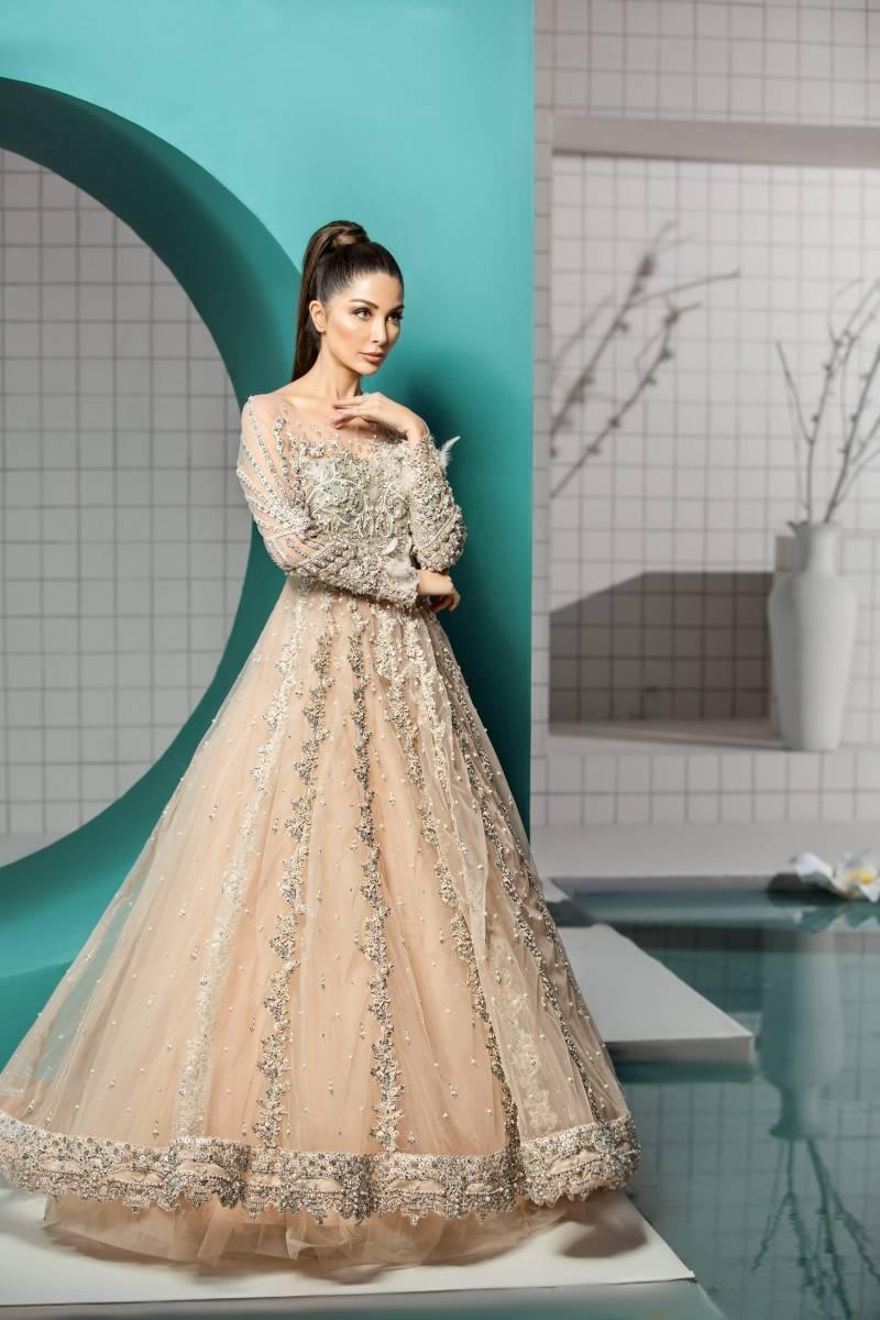 Fancy Wedding Dress Pakistani