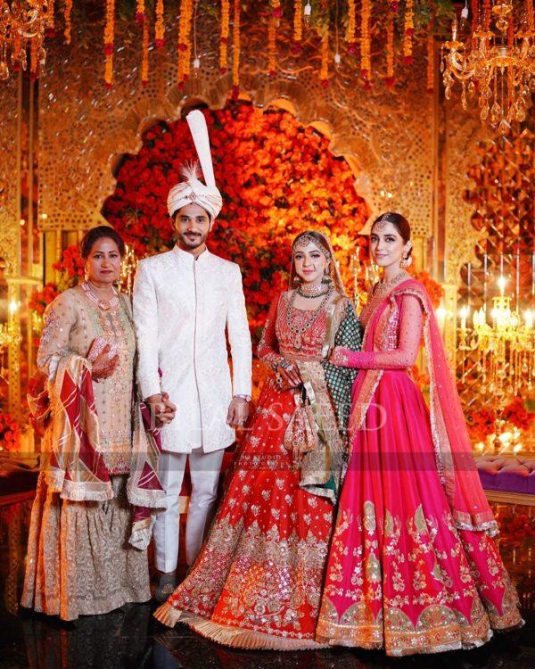 Maya Ali Brother Afnan Qureshi Awesome Wedding Photoshoot