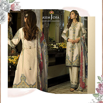 Asim Jofa Luxury embroidery work