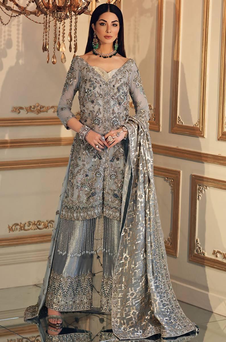 Pakistani Wedding Wear by Maha Osman